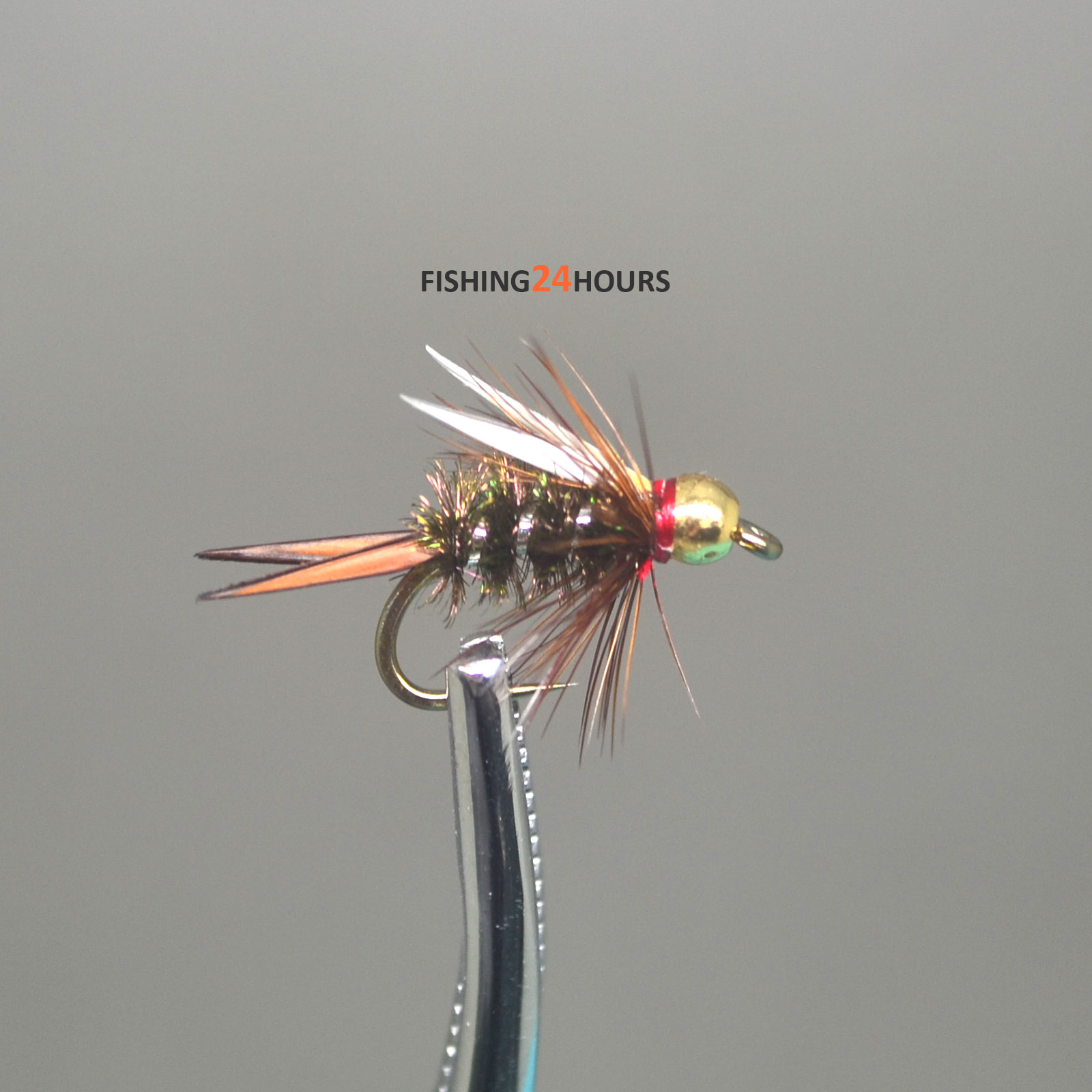 6pcs Half Dozen Fly Fishing Bead Head Prince Nymph 12 14 16 New Ebay