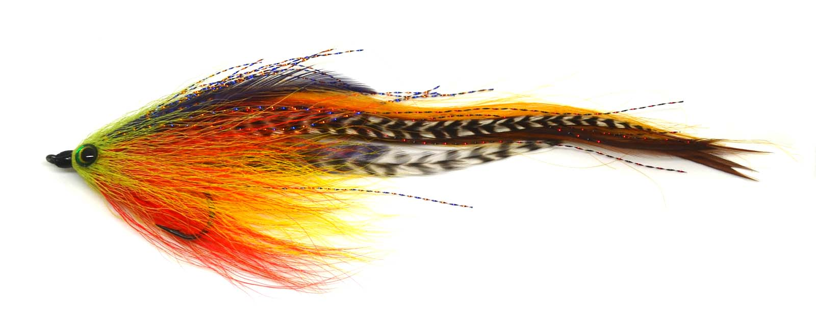 5cm Fishing Accessories Hook//Tube Trout Salmon Steelhead Pike Fly S almost A6F1